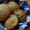 Blueberry Oat Bran Muffins