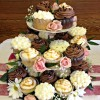 Rustic Cupcakes and Naked Cake!