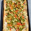 Veggie Cream Cheese Squares