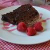 Triple Chocolate Raspberry Cake