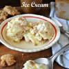 Peanut Butter Cookie Dough and Caramel Swirl Ice Cream