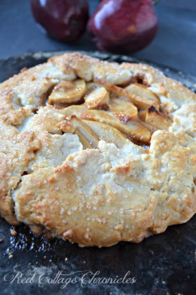 Rustic Apple Caramel Tart