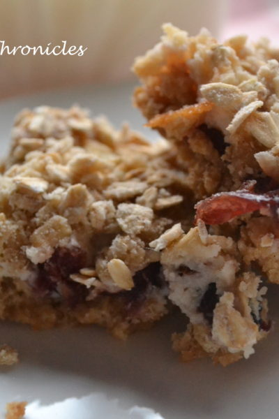 Cranberry Oatmeal Squares