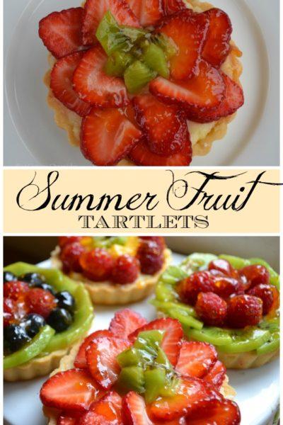 Summer Fruit Tartlets