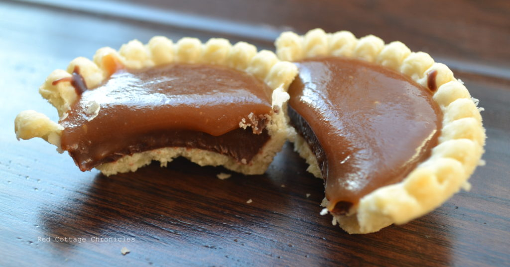 Chocolate Truffle Tarts - Red Cottage Chronicles