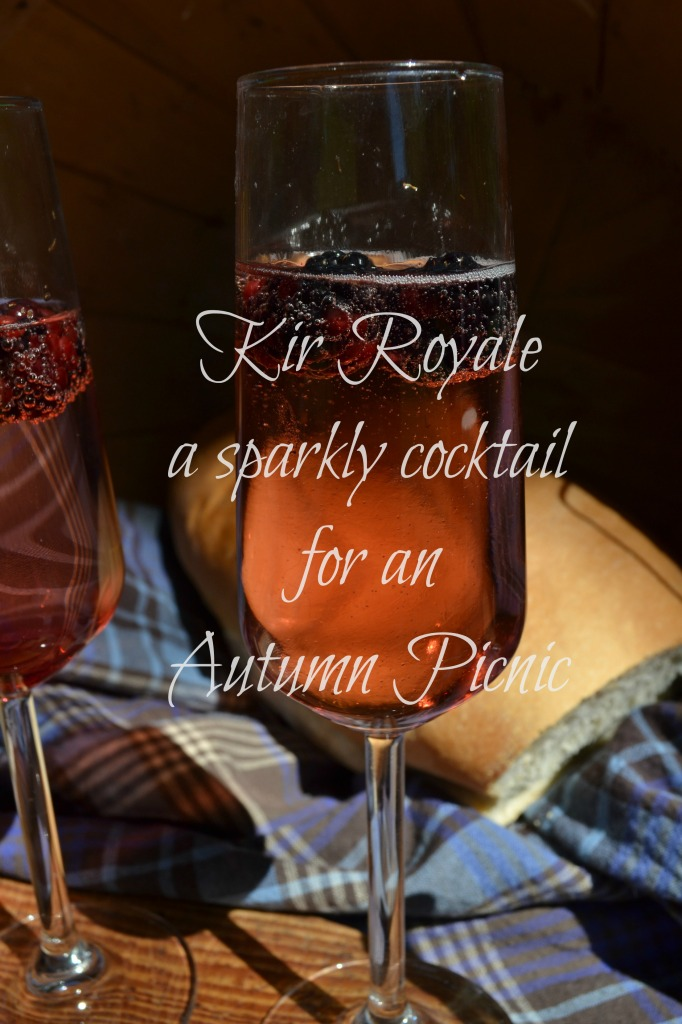 sparkly cocktail