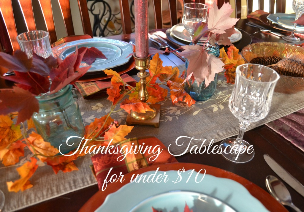 Thanksgiving Table under $10