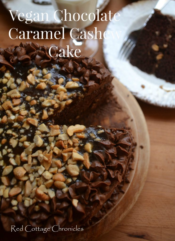 Vegan Chocolate Cashew Cake
