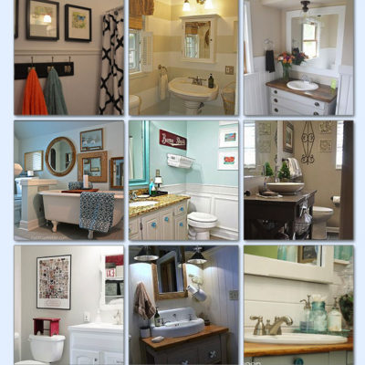 small bathroom makeovers archives red cottage chronicles