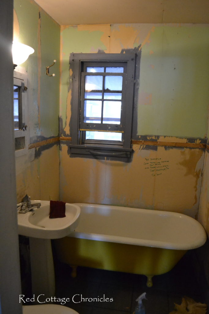 This Small Bathroom Goes From Seriously Bad To Beautiful