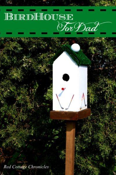 Birdhouse for Golfers
