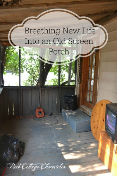 Breathing New Life Into an Old Screen Porch