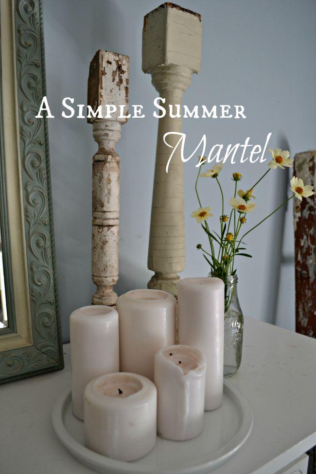simple summer decor