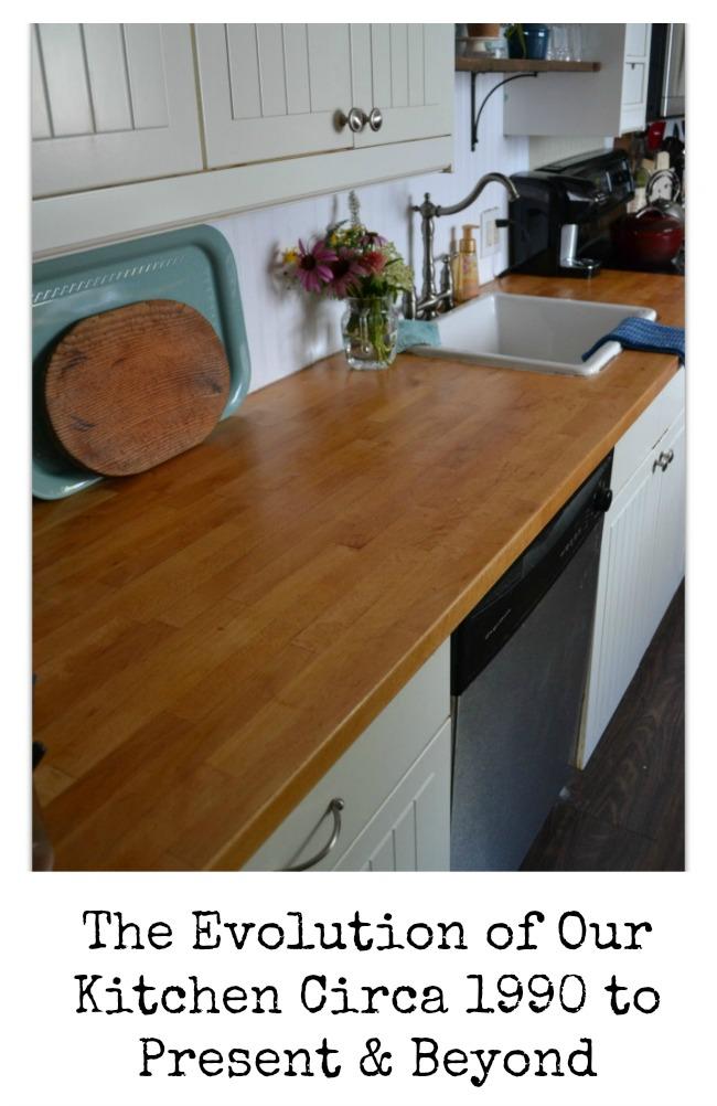 Kitchen through the years