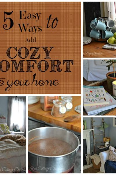 5 Ways to Add Cozy Comfort to Your Home