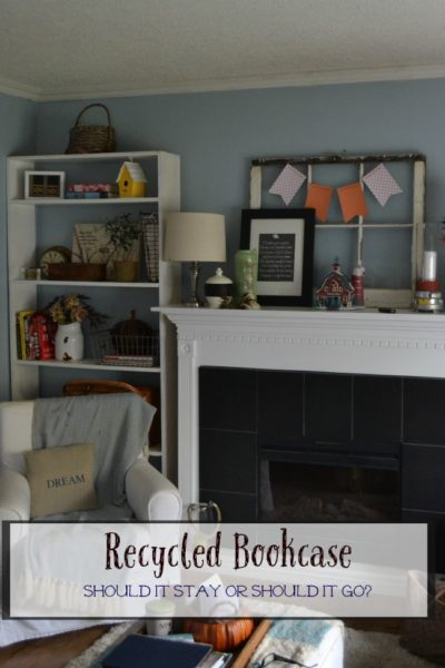Recycled Bookcase