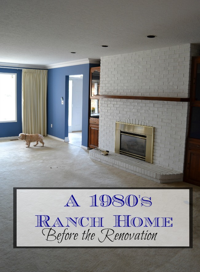 Renovating a 1980's ranch home