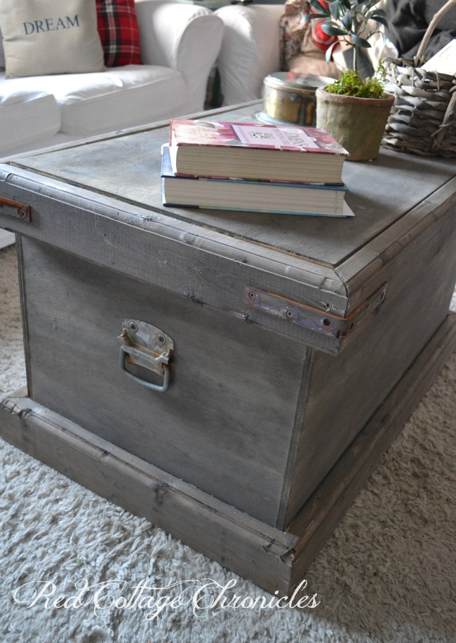 Pottery Barn Rebecca trunk DIY