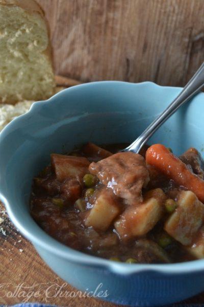 Slow Cooker Beef & Vegetable Stew