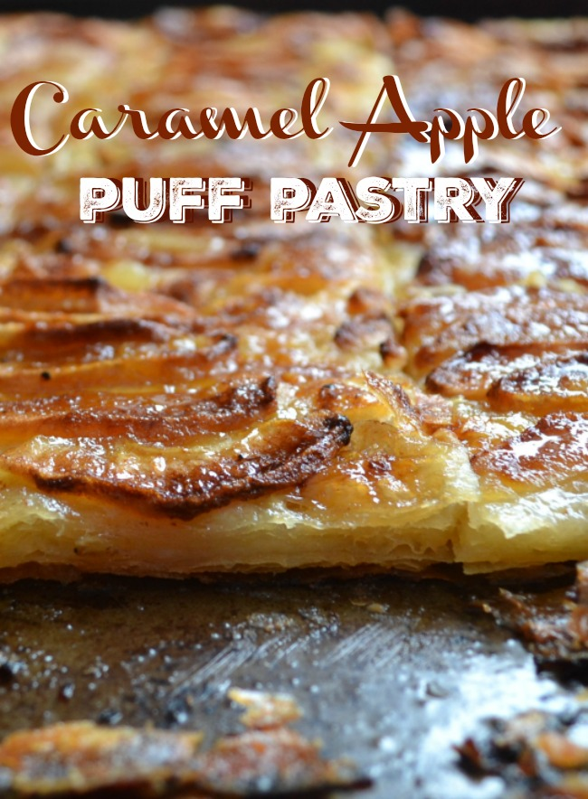 A crisp, caramelized apple puff pastry tart looks like it came straight from the bakery