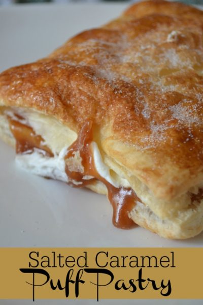 Salted Caramel Puff Pastry