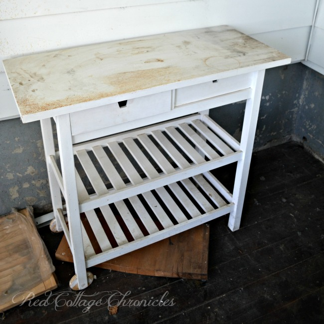 Ikea Kitchen Cart Hack: Kitchen Cart Edition With Chalk Paint And Wax