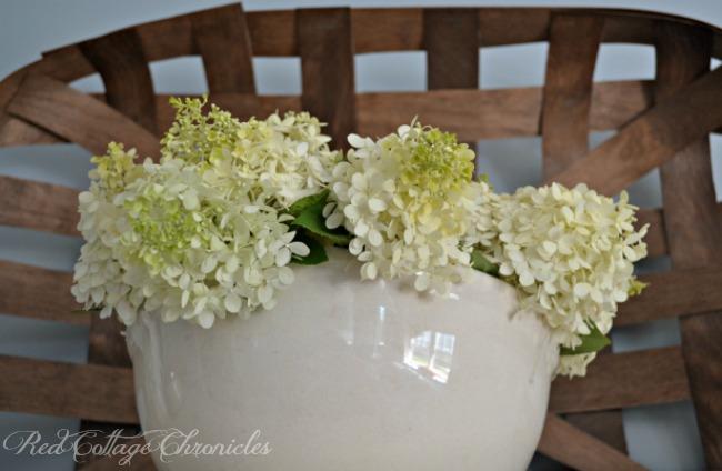 Easy DIY Hydrangea Bowl