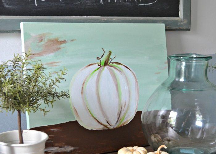 Autumn Craft Ideas – Pumpkin Picture