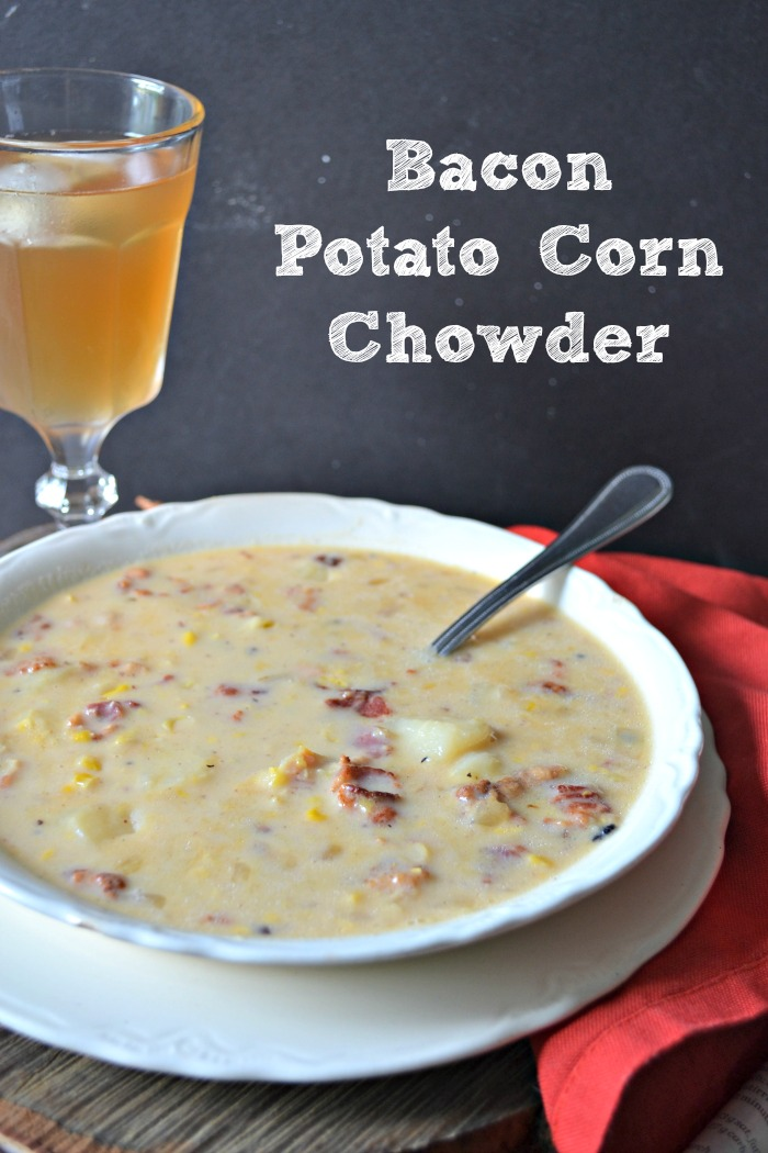 potato bacon soup from Taste of Home