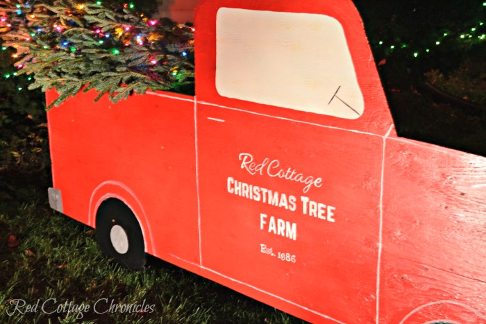 The Range Christmas Outdoor Decorations : Outdoor christmas decorations diy red truck tree