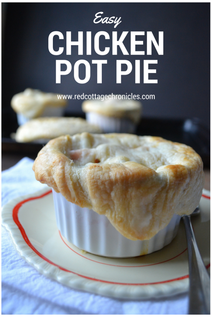 Get ready for winter with comfort food like chicken pot pie