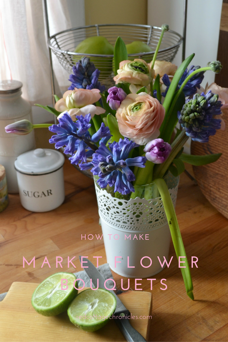 market flower bouquets