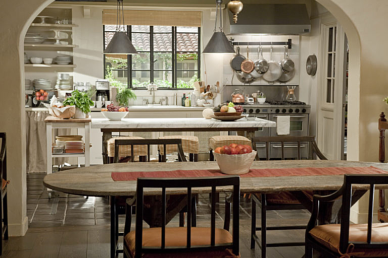famous movie kitchens