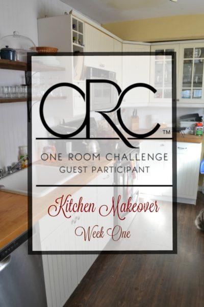 One Room Challenge Kitchen Edition