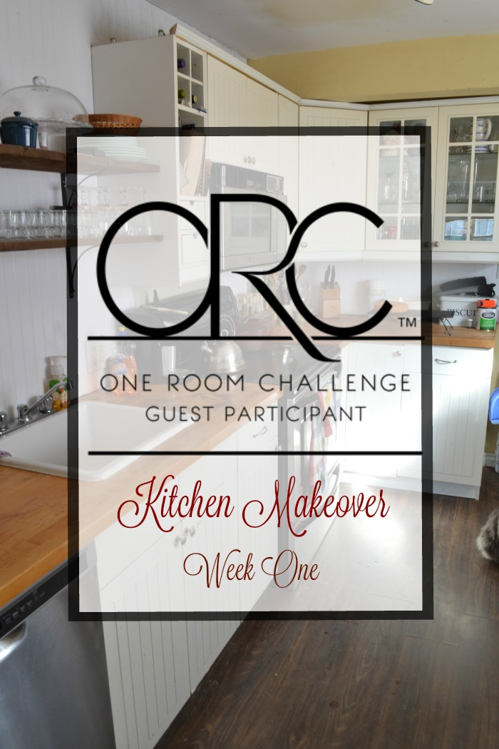 One Room Challenge Kitchen Renovation in six weeks