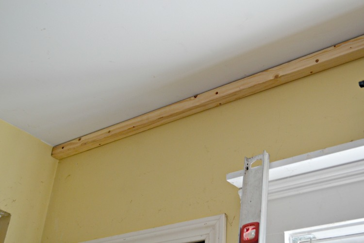 Pine Plank Ceiling