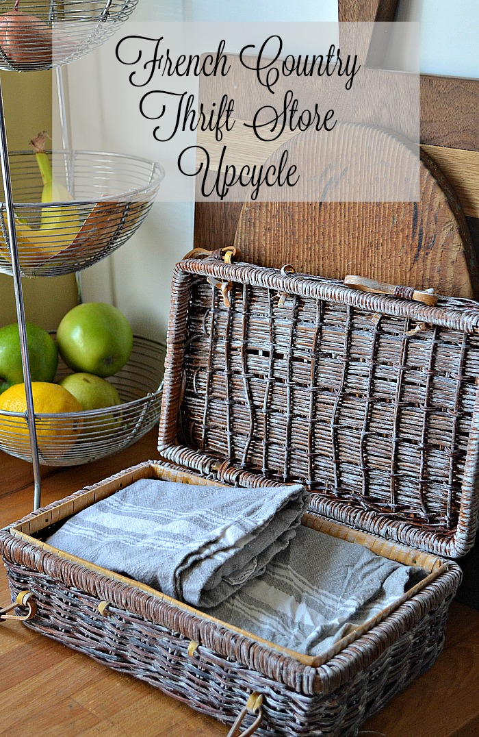Thrift Store Upcycle French Country Style