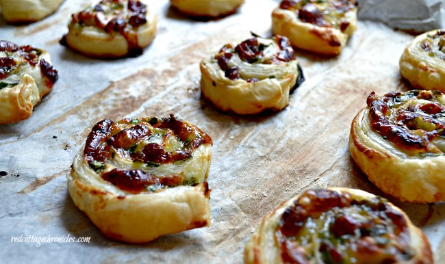 Easy Appetizer Recipe using puff pastry