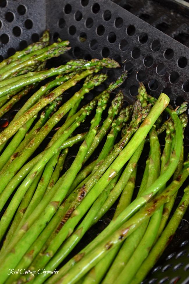 balsamic grilled asparagus nachos