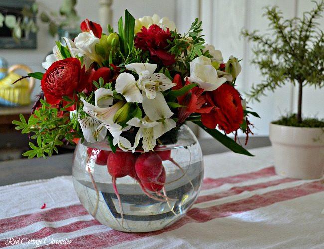 Farmer's Market Flower (& Vegetable) Bouquet