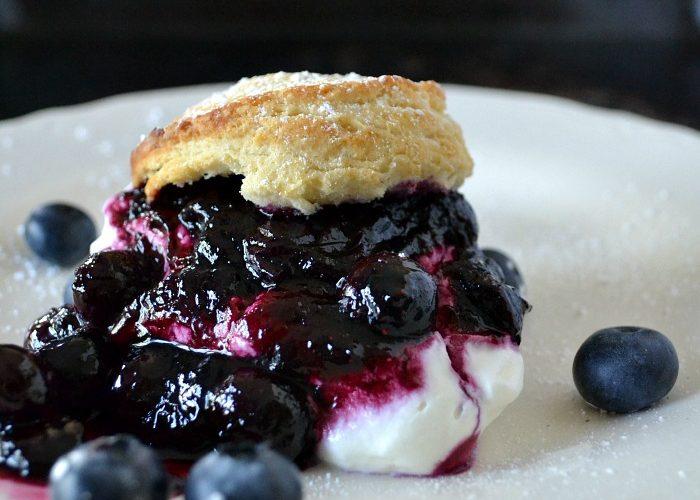 Blueberry Shortcake