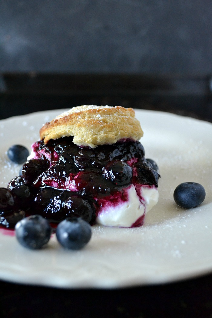 National blueberry picking day deserves a yummy Blueberry Shortcake
