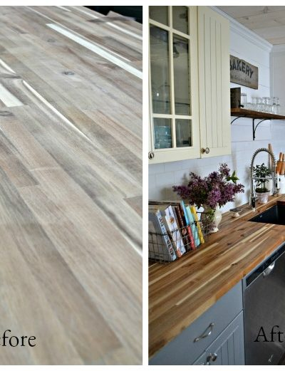 Sealing Butcher Block Countertops