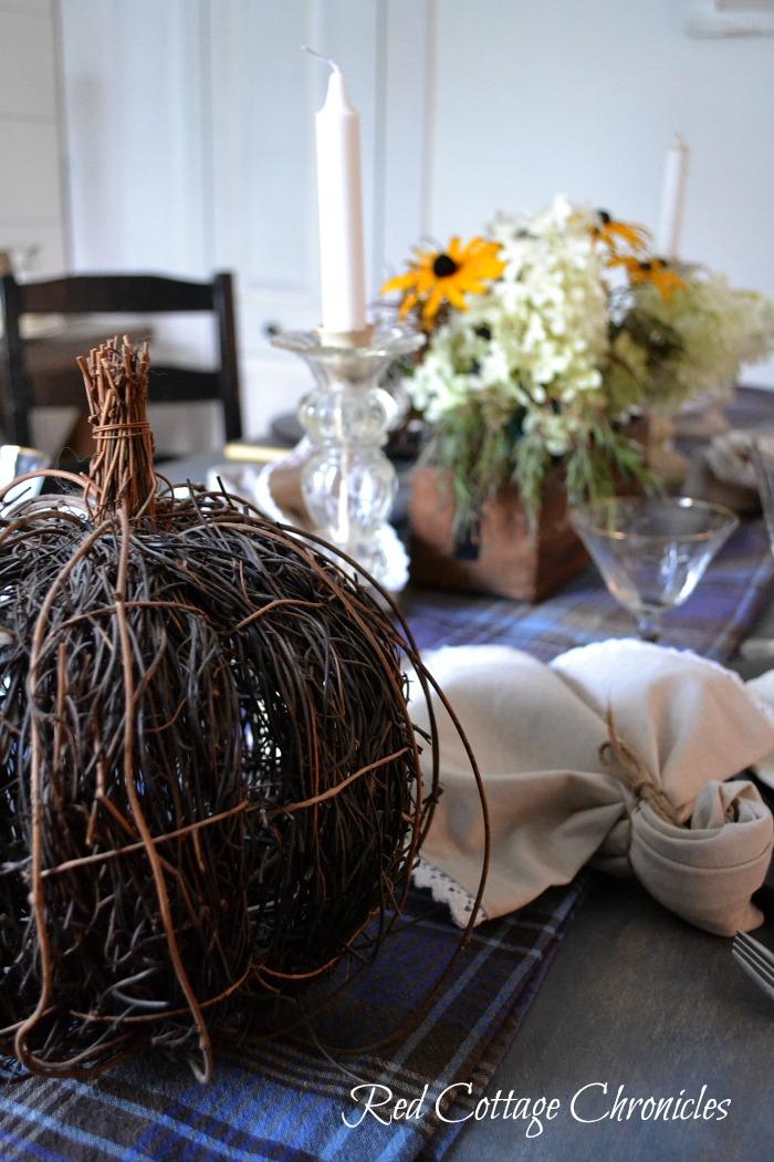 Ideas for your autumn tablescape