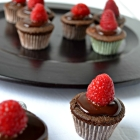 Chocolate, Ganache and raspberries....Oh My!