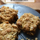 Date Squares with a citrus twist