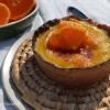 Tangerine Creme Brulee Tart