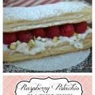 Raspberry Pistachio Napoleons
