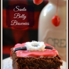 Santa Belly Brownies