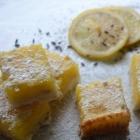 Lemon Lavender Squares